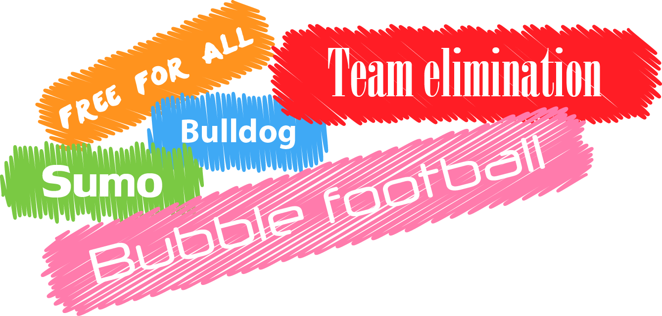 Midlands Bubble Football Game types